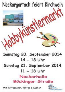 Hobbykünstlermarkt 2014