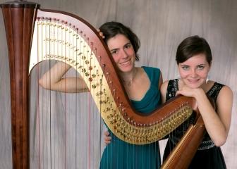 Duo Sopran und Harfe Nah-Presse