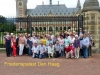 Gruppenfoto Friedenspalast Den Haag